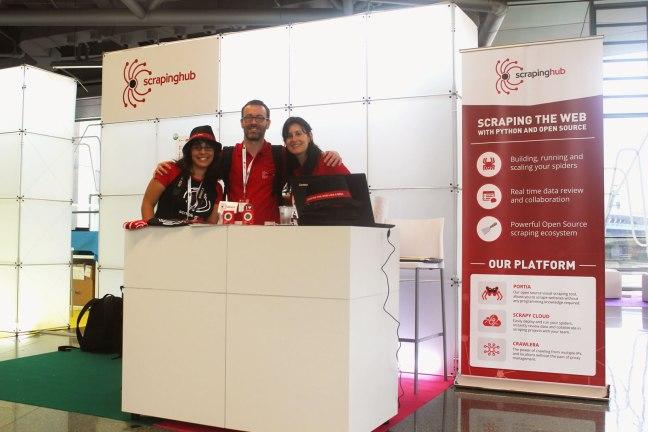 scrapinghub-europython-booth