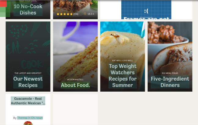 Links followed by Food.com